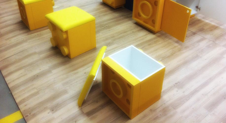 quiosque Lego